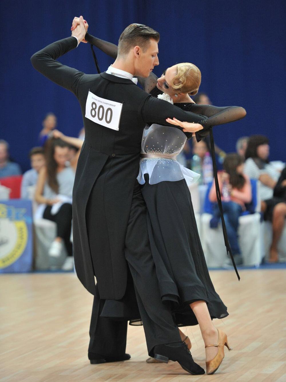 Turnierpaar Standard von Trainerin Christine Heitmann