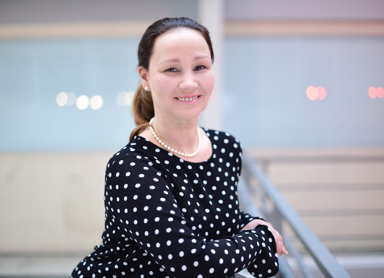 Tanztrainerin Christine Heitmann